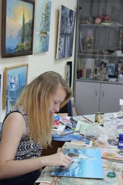 занятия по живописи для детей и взрослых