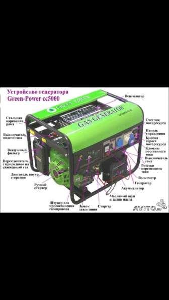 Газовый генератор green power