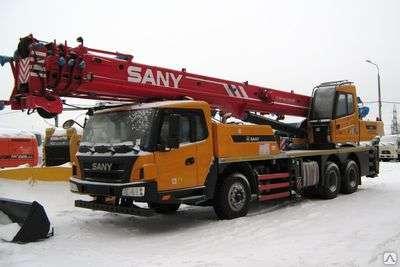 Автокран sany qy25c
