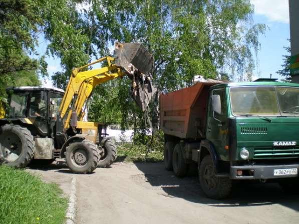 Вывоз строительного и бытового мусора самосвалами