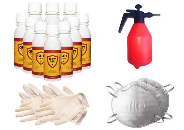 Средств от клопов, тараканов и насекомых GET® (ГЕТ) Pro