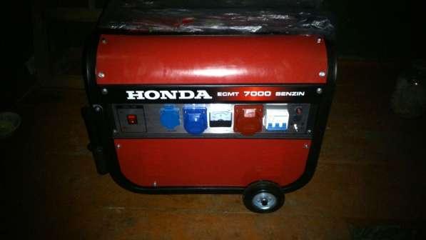 Новый Бензогенератор HONDA ECMT 7000