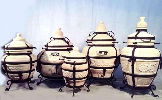 Тандыр керамическая шашлычница
