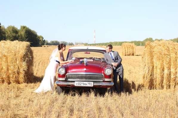Прокат авто ретро Волга ГАЗ -21 на свадьбу и не только в Новосибирске фото 5