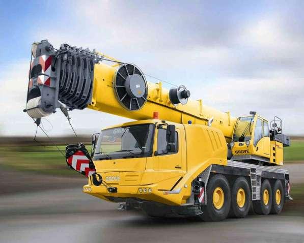 Аренда автокрана 100 тонн 52(70) метра GROVE GMK 4100