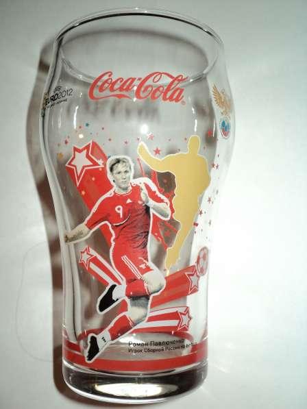 Стаканы Кока-колы с футболистами