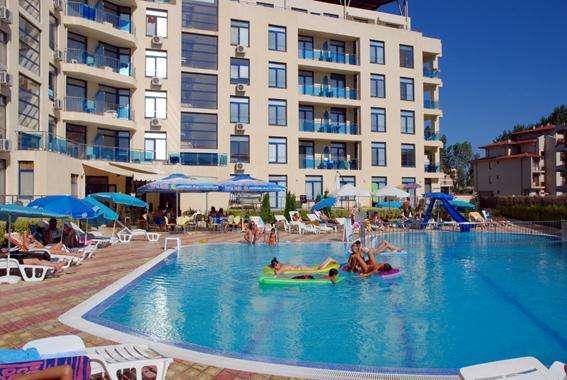Студия на Солнечном Берегу в Болгарии