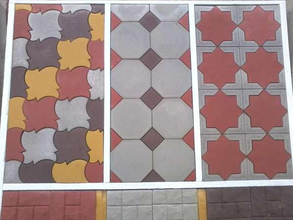 Тротуарная плитка от производителя,бордюры,крышки столбов.