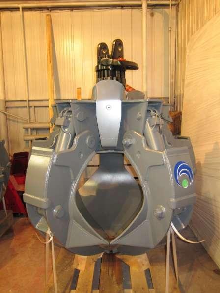 Грейфер для металлолома 600 литров (Италия) с ротатором GR16