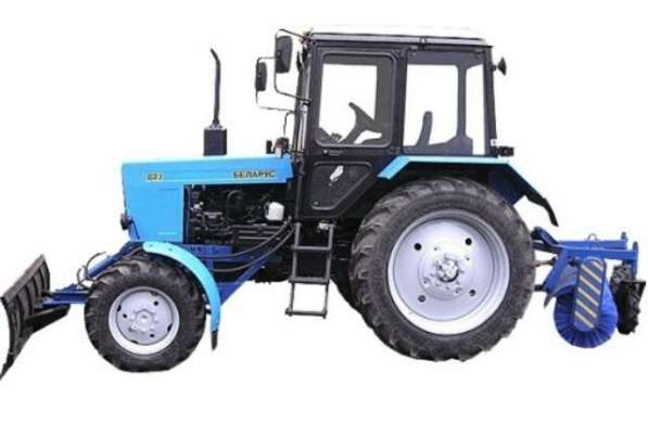 Аренда трактора МТЗ со щеткой