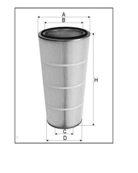 Фильтроэлементы к дробеметным, дробеструйным установкам
