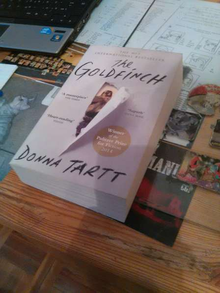 "книга на англ. языке Donna Tartt ""The Goldfinch"" (""Щегол"")"