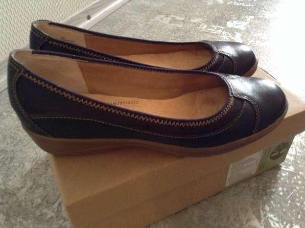 Кожаные туфли Softspots