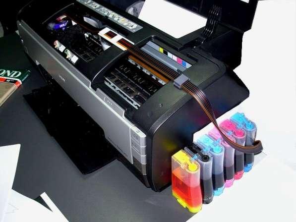 Ремонт струйных принтеров Epson Stylus Photo