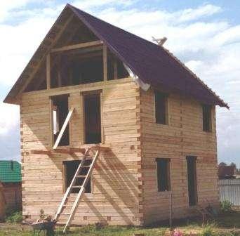 Строим каркасные брусовые дома