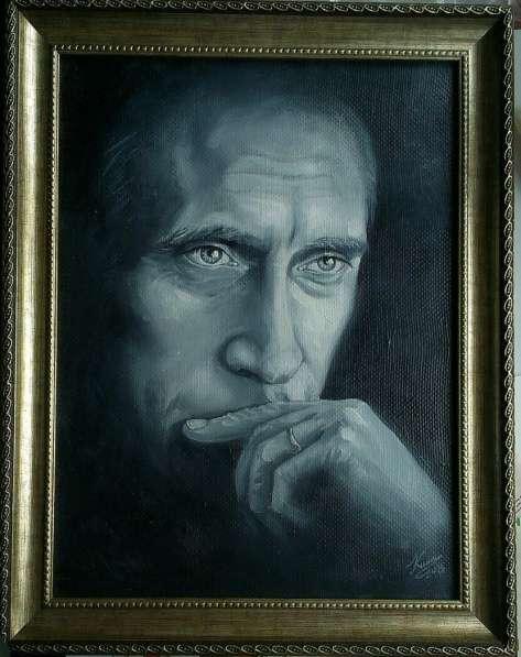 портрет В,В, Путина