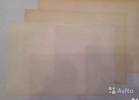 Старая бумага А 4 ( 60 , 70 , 80 , 90 годы )