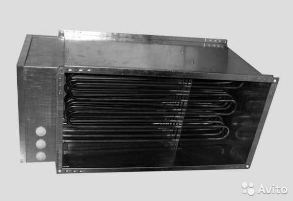 Воздухонагреватель канал экв 70-40-27