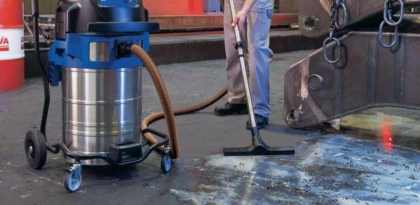 Чистка бетонных полов