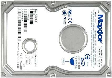 HDD Maxtor DiamondMax Plus 9 6Y080M0 80 GB 1.5G SATA