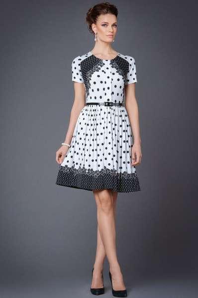 Платье от арт деко 44 р, горошек