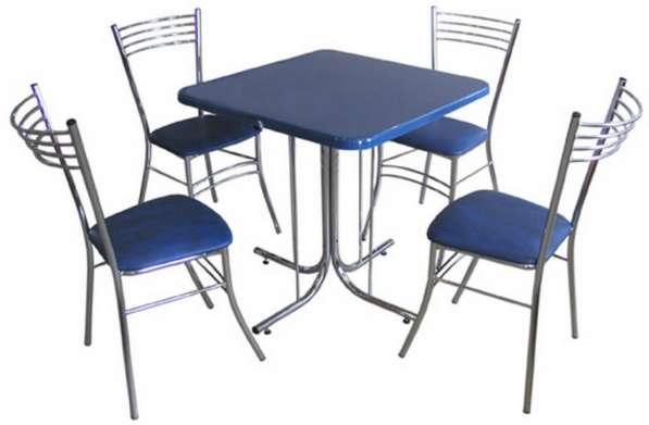 Стол с квадратной столешницей С-400