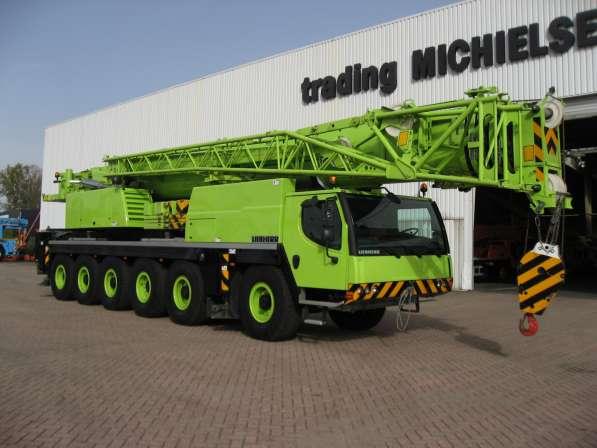 Аренда автокрана 150 тонн 66(99) метров Liebherr LTM 1150