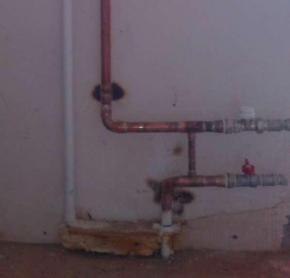Установка счётчиков воды. Ремонт медных водопроводов. в Красноярске фото 5