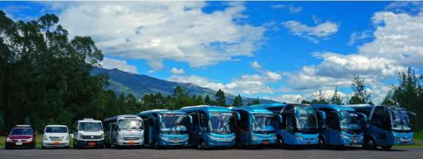 Туристический транспорт в Эквадоре на любое количество пасса