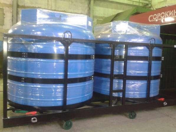Емкости для КАС (перевозка, хранения) в усиленном каркасе