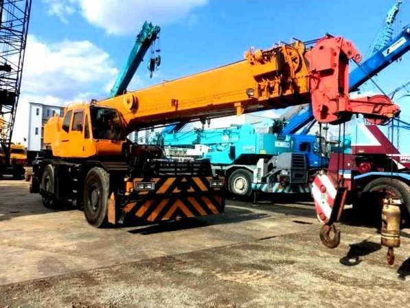Аренда автокрана 35 тонн 49 метров