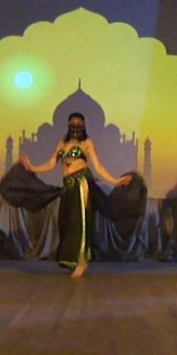 танец с удавом