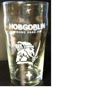 Брендированные бокалы для пива Hobgoblin(Хобгоблин)0.5 литра
