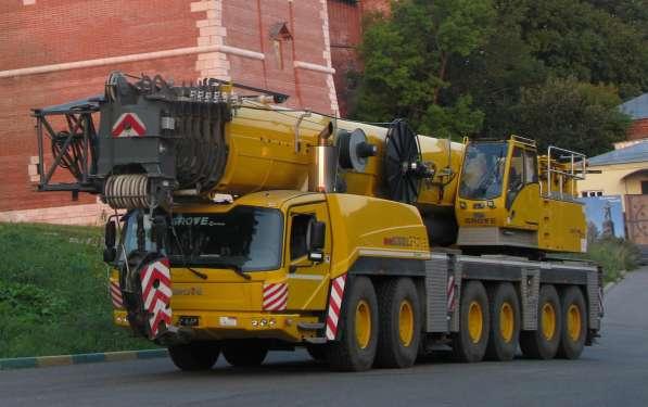 Аренда автокрана 300 тонн 80(101) метров GROVE GMK6300L