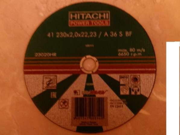 Круги отрезные Hitachi А36 230Х2,0Х22,23 metal