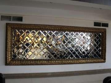 зеркальное панно ,зеркалььные элементы, фацет