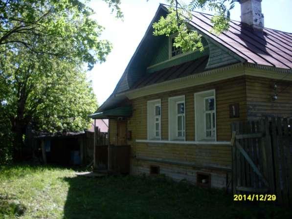 жилой бревенчатый дом в Кадникове Вологодской области