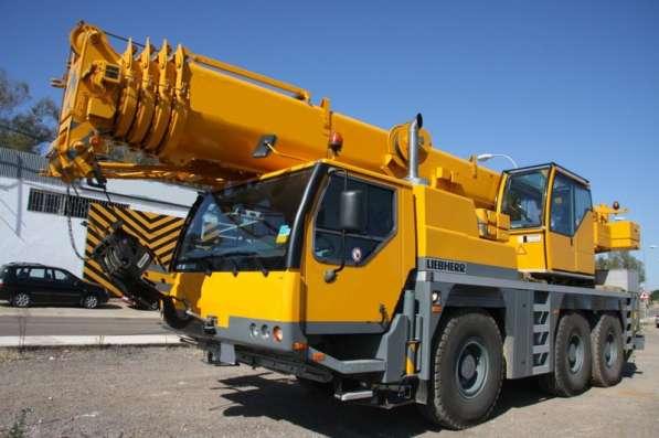 Аренда автокрана 55 тонн 40(56) метров