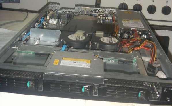 Сервер для монтажа в стойку 19
