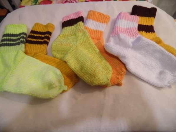 Продам вязанные носки от бабули