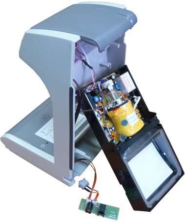 Ремонт детектора банкнот