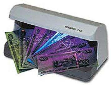 Детектор банкнот Dors 115 ультрафиолетовый детектор