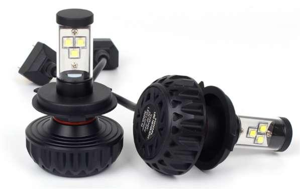 LED авто лампы 3SHL головного света H4 H8 H7 H11 H16 H10 H13