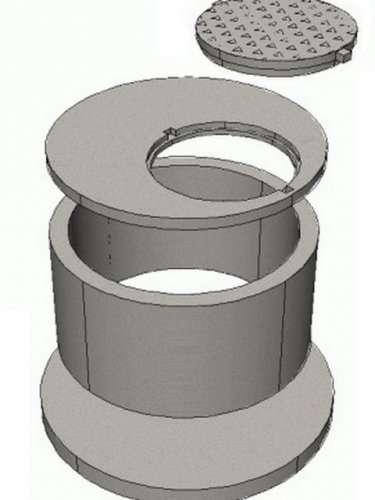 кольца бетонные с пазом с замком для септика, колодца, канализации в калининграде