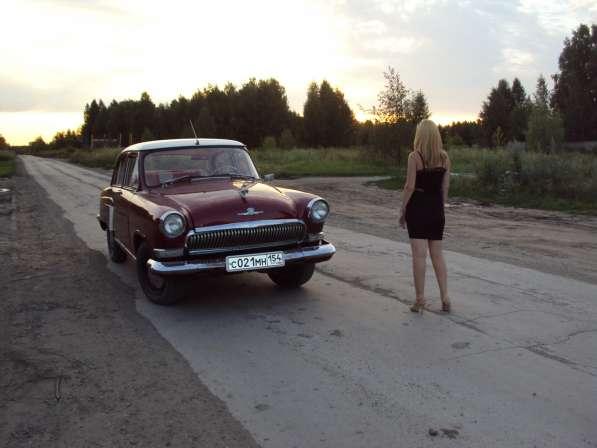 Прокат авто ретро Волга ГАЗ -21 на свадьбу и не только в Новосибирске