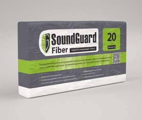 Профессиональная звукопоглощающая плита SoundGuard Fiber