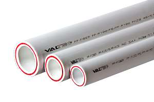 Труба полипропиленовая стекловолокно ф25 PN 20 Valtec