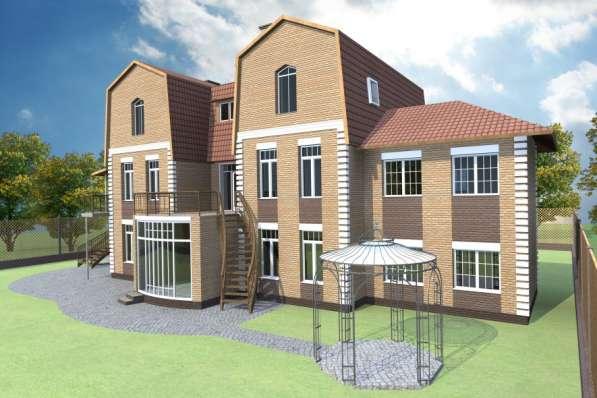 Готовый проект дома 306 кв. м / Артикул FP1