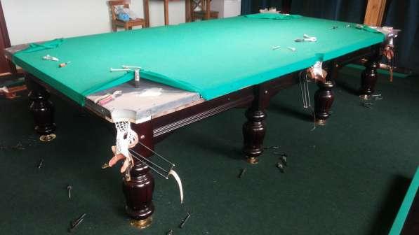 Ремонт и обслуживание бильярдных столов