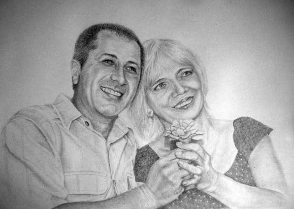 Портреты и шаржи карандашом